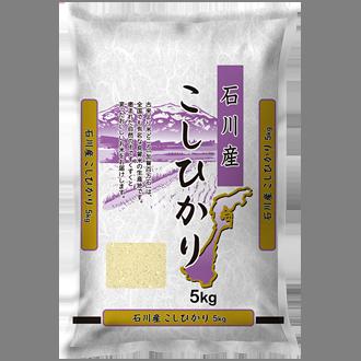 【精米】  石川県産  こしひかり