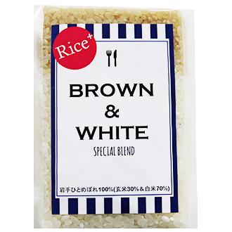 【オリジナル】 BROWN&WHITE
