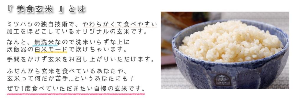 美食玄米とは